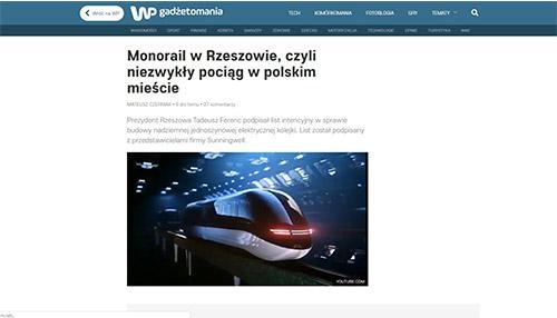 Monorail w Rzeszowie, czyli niezwykły pociąg w polskim mieście