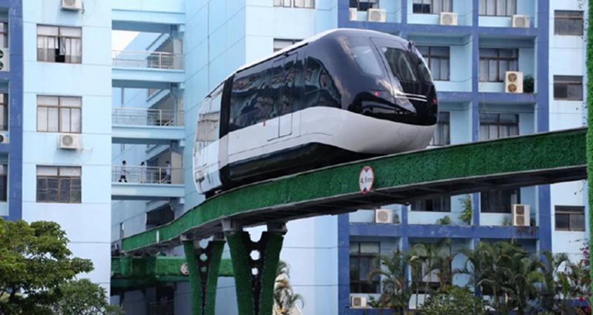 Niezwykła kolej monorail w Rzeszowie